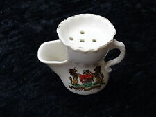 Gemma China Model of a Shaving Mug with City of Bristol Crest