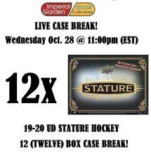 19-20 UD STATURE 12 (TWELVE) BOX INNER CASE BREAK #1988 - Boston Bruins