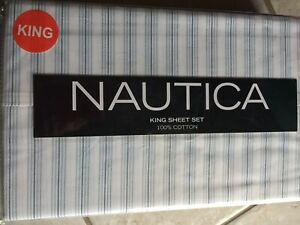Nautica King Beasley Stripes