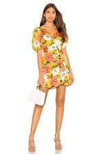 Women's Parker Minna Dress in Lemon Wildflower Size 12