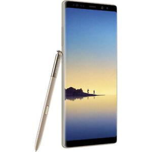 Samsung Galaxy Note8 SM-N950F/DS - 64GB - Maple Gold Smartphone