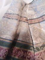 Croscill Dover Manor Dunhill Queen Bedskirt Mulberry Needs Repair