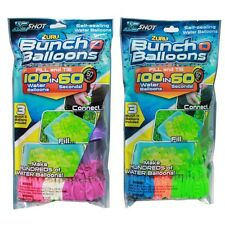 Lot of 4x A Bunch OF Water Balloons 100 Self-Sealing Water Ballons 400 balloons