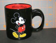 Disney Mickey Mouse Mug 10oz Ceramic Classic Black Cup