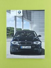 BMW 1 SERIES (2007 - 2011) Owners Manual / Handbook
