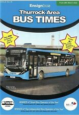Ensignbus *Never distributed* timetable booklet