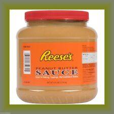 Reese's Peanut Butter Sauce 4.5 Lbs Baking Toppings Pourable Hershey Shakes