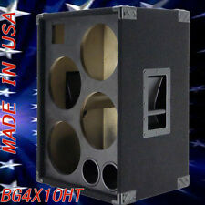 4X10 with Tweeter Bass Guitar Speaker Empty Cabinet Black Carpet BG4X10HTBC