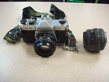 Pentax K1000 SE Split Image Focus 35mm Film Camera w/ 49MM LENS