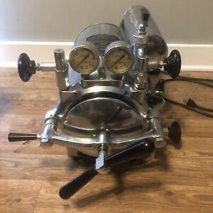 Vintage Pelton Crane Sterilizer Model FL-2 For Doctor, Dental, Or Tattoo