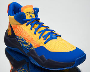 New Balance Two WXY My City Pack OKC Men's Gold Blue Basketball Sneakers Shoes