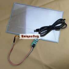 """13.3"""" Touch Digitizer Glass 296.4*191.4mm Screen Panel + USB Controller Kit"""