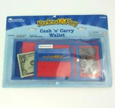 Learning Resources Pretend and Play Play Money Counting Math Currency New