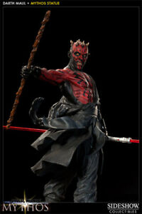 Star Wars Darth Maul Mythos Statue 263/2500 Sideshow BRAND NEW