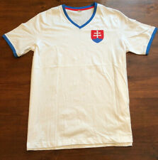 European Made in Europe Slovakia White Mens XL Graphic T Shirt, s5