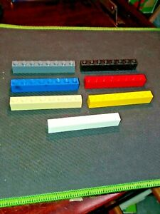 LEGO BRICK 1x8 (PACK OF 4) part no. 3008 SELECT COLOUR AND AMOUNT