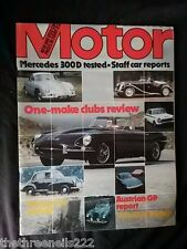 MOTOR MAGAZINE - MERCEDES 300D - AUG 15 1979