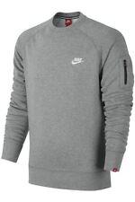 Felpe e tute da uomo a manica lunga Nike grigio
