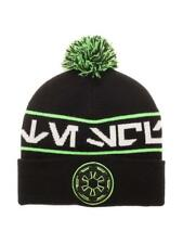 OFFICIAL STAR WARS - GALACTIC EMPIRE SYMBOL DEATH TROOPER POM CUFF BEANIE (NEW)