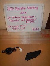 2013 Hyundai Elantra Driver Door Tweeter with Grille/96333-3X000, 96310-3X000
