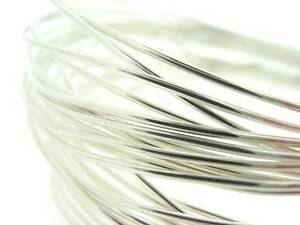 925 Sterling Silver Round Wire up to 3.0mm Length 100 to 1000mm BEST OFFER