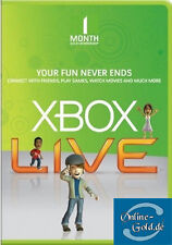 1 Monate Xbox Live Gold Mitgliedschaft Card 1 Month Microsoft Xbox One Code