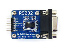 RS-232 Board RS232 to TTL Transceiver Module SP3232 DB9 Connector UART Port