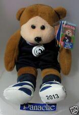 SKANSEN BEANIE KID STICKSEY THE CARLTON BLUES AFL MINT WITH MINT TAG MARCH 2013