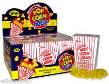 24 Popcorn Bubblegum lemon flavored nostalgic popcorn bags filled with lemon gum