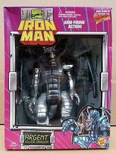 IRON MAN 3 or 2 Series 1995 Argent Silver Dragon Modok Marvel Unopened Toy Biz!
