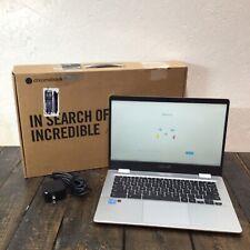ASUS ChromeBook C423NA-DH02 14 Inch Intel Celeron N3350 4GB RAM, 32GB - Silver