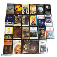 Bundle 23 x Music Cassettes Tapes Orchestra Organ Classical Choir Musicals