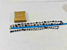 Vtg Avon Long Colored Bead Necklace Duo ~ Boho Statement Jewelry ~ Ships FREE