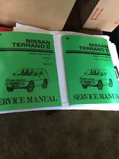 Nissan Terrano II  Workshop Manual & Ford Maverick Service Repair Instruction