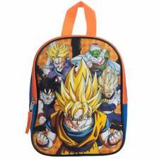 Dragon Ball Z Kids Anime Backpack Toddler Baby Goku Saiyan School Book Bag Toy
