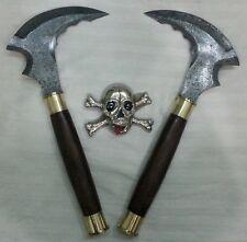Custom made Knife king's Damascus Sharp Sickle pair