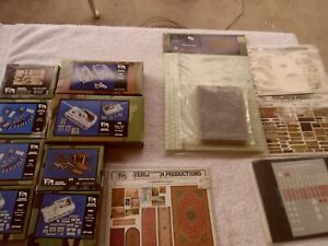 VERLINDEN 1:35 Scale  Kit Lot.(14 Pieces)Miscellaneous Accessories & Figures.
