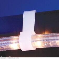 .24 x LIGHT GUTTER HOOKS HANGING XMAS CHRISTMAS DECORATION OUTDOOR LIGHT HANGER