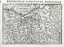 Francia, Beaucaire, Avignons, naranja, Rhone, P. Bertius antiguo mapa 1606