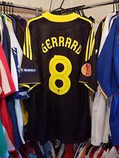 Liverpool Football Shirt 2010/11 3rd Large ~ Gerrard 8 Europa League