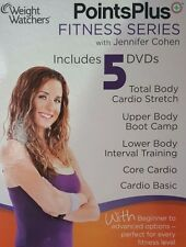 Weight Watchers Points Plus Fitness Series 5 DVD Set Jennifer Cohen Übung #49