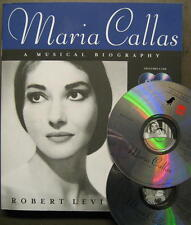 MARIA CALLAS - A MUSICAL BIOGRAPHY INCLUSIVE 2 CD - BUCH VON ROBERT LEVINE