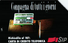 *G 221 C&C 1254 SCHEDA TELEFONICA USATA COMPAGNA 31.12.95 5.000 L. MAN