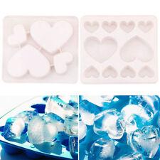 2 Eiswürfelform Eisform Kuchenform Eiswürfel Eiswürfelschale Pudding Silikon