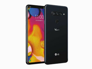 New LG V40 ThinQ V405UTA - 64GB - Black (GSM Unlocked)