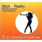 Back to Reality - 90s Soul, Groove & Club Classics (3 X CD)