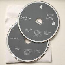 Original Apple Mac G5 OSX 10.4.4 Installer DVD Set