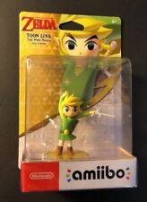 Nintendo Legend of Zelda Amiibo Figure [ Toon Link The Wind Waker Edition ] NEW