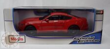 2015 Ford Mustang GT Red 1:18 Diecast Model Car Maisto Special Edition, New