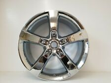 "4 X 20"" Totalmente Cromado Dlux habló de estilo 5/120 se ajusta a BMW 4,5, Insignia, Camaro"